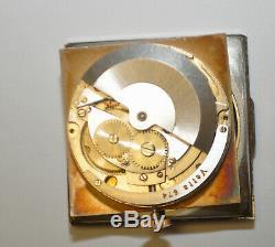 Rare Vintage Vetta 21 Rubis Automatic 30mm square Cal. 674 Swiss Watch