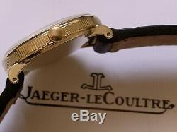 Rare beautiful vintage lecoultre swiss made wristwatch with original box