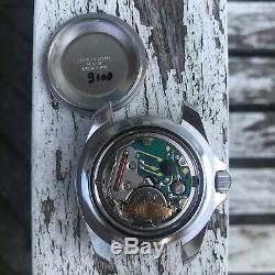 Rare vintage swiss Uno monnin 844 200m military divers watch bakelite bezel