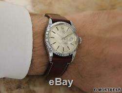 Rolex 1603 Rare Oyster Date Vintage Automatic Swiss Made Luxury Watch 1973 D53