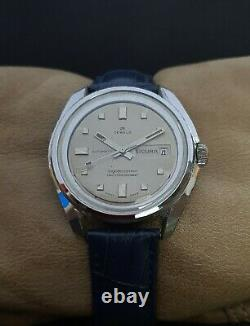 SICURA by BREITLING AUTOMATIC EB cal. 158 VINTAGE 60's RARE 25J SWISS WATCH