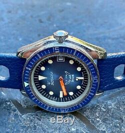 SQUALE 1515 Diver, very rare, vintage, perfekt like new, NOS, SWISS TROPIC