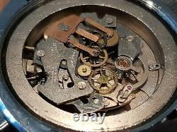 Stunning Rare Vintage Mechanical Swiss, Sorna Chronograph, 1970s