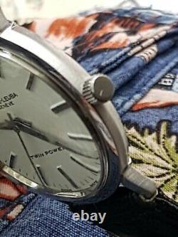 Stunning faver labura Sea cheif WRIST WATCH 17 JEWEL'S Rare SWISS made