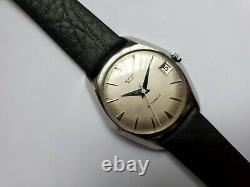 Super Rare High End Vintage Vertex Revue Mens Watch Automatic 87 Swiss Movement