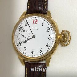 Swiss Zenith Watch Vintage Wristwatch Rare Marriage Gold Grand Prix Paris 1900