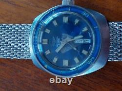 Tavernier (Jenny Sealab) vintage Swiss Diver 20atm Rare