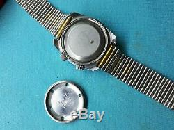 Tissot Navigator Sonorous Alarm Mens Vintage Swiss Wrist Watch Rare Collectors