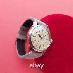 Tudor oyster Rare Vintage Small Rose mens watch 34mm 4540 Swiss @WatchAdoption