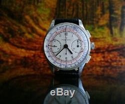 ULTRA RARE VINTAGE SWISS WATCH MARVIN SPILLMAN CHRONOGRAPH VALJOUX 22 1930´s