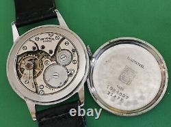 UNIVERSAL GENEVE-cal. 262-vintage mechanical manual-military-anni40-Swiss-rare