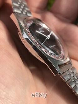 Ultra Rare 1970 Vintage Omega Genève Racing Dial Mens Watch Cal. 613 Swiss 34,2mm
