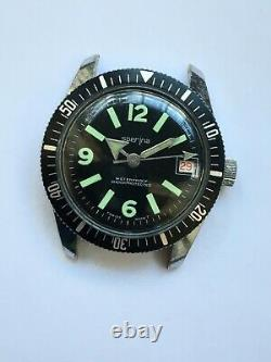 VINTAGE Men's WATCH SPERINA DIVER T. SWISS MADE COLLECTIONS ONE JEWEL RARE RRR