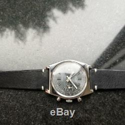 VULCAIN Men's Rare Vintage Valjoux cal. 7730 Chronograph, c. 1960s Swiss LV511