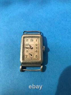 Very Rare Antique Vintage Mechanical Cylinder Swiss Watch Begu Art Deco