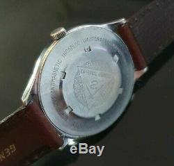 Very Rare Man's Atlantic World Master Mechanical Vintage Swiss Wrist Watch