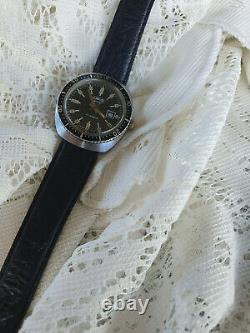 Very Rare Men/s Vintage Oris Star Divers Watch. Swiss Made. 100m Fully Serviced