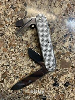 Victorinox Alox Pioneer Old Cross Swiss Army knife rare vintage