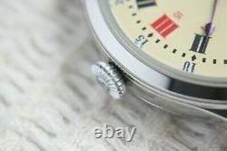 Vintage 1911`s Original Swiss movement rare UNIQUE New Cased Men`s Wristwatch