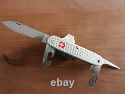 Vintage 1981 soldier alox model Swiss Army Military Knife Victorinox very rare
