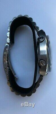 Vintage Bulova Accutron Snorkel 666 FEET Swiss Stainless-Steel Day Date RARE