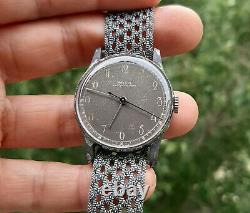 Vintage Doxa Military Style Swiss Watch 1945 All Original Rare Variant