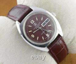 Vintage Favre Leuba Automatic Swiss Men's Working Wrist Watch Rare A0703