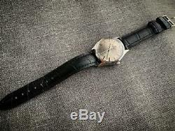 Vintage Favre Leuba Sea Chief Gents Manual Wind Watch, Rare, Swiss Grey DIAL