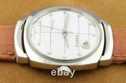 Vintage Fortis Trueline Automatic Swiss Men's Working Wrist Watch Rare A0705