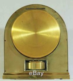 Vintage Jaeger Lecoultre Rare Cal 526 Borne Model Atmos Swiss Mantle Clock