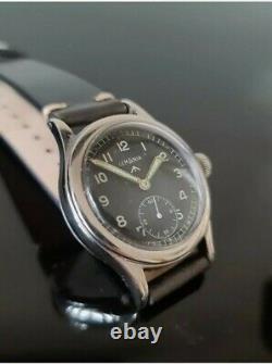 Vintage LEMANIA Dirty Dozen Military WW2 Watch. Swiss. Lovely RARE Example