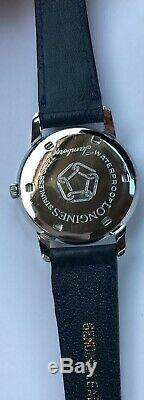 Vintage Longines Jamboree Watch 17 Jewels Swiss made Waterproof Acier Inox RARE