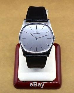 Vintage MOVADO zenith watch rare SWISS MADE wristwatch serviced