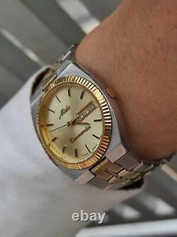 Vintage Mido Commander Daydate 8017-1 authentic swiss made rare mido watches