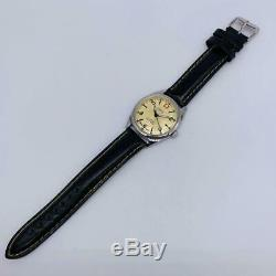 Vintage ORIS Swiss Men's Analog Watch Hand-winding 17 Jewels Shock-Proof Rare