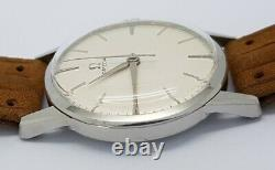 Vintage Omega Swiss Made Cal. 285 Manual Wind Gents Watch Rare A16