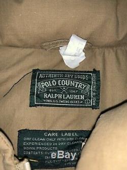 Vintage Polo Country Ralph Lauren K Swiss Redline Goose Rare 90s Stadium Large