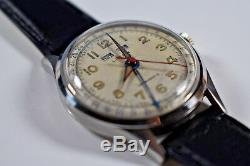Vintage! RARE! Liban Swiss Men's Antimagnetic Mechanical Watch Multi Calendar