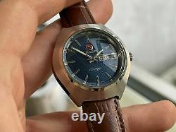 Vintage Rado Voyager Rare Dial Automatic Gents Watch, Swiss 39mm