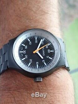 Vintage Rally Tachymeter Claro Inspired by the Porsche Design Rare Swiss Made