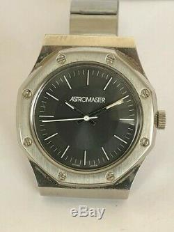 Vintage Rare ASTROMASTER Royal Oak Homage Buler Swiss watch Grey Dial #1
