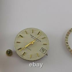 Vintage Rare Girard-Perragaux Chronometer HF Gyrodate Men watch Swiss Automatic