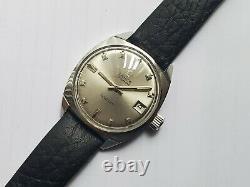 Vintage Rare Lanco Seaborn Mens Automatic Watch Swiss Movement HEV Screw Crown