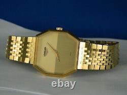 Vintage Rare Longines 17j Cal. 528 Swiss Gp Mens Dress Watch Serviced C. 1977