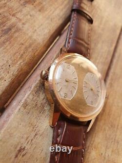 Vintage Rare Oris Dual Time Mechanical Movements Swiss Men's watch