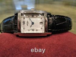 Vintage Rare Rotary LS42829/01 Swiss Reverso Style Case Textured Dial Watch