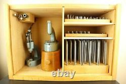 Vintage Rare Swiss Horia Deluxe Jeweling and Staking Set Watchmakers Repair Tool