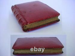 Vintage Rare Swiss Juvenia Book-form TRAVEL WATCH