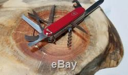 Vintage Rare Victorinox Elinox Ranger Outdoorsman Swiss Army Knife Great Cond