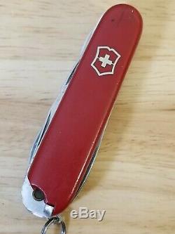 Vintage Rare Victorinox Master Craftsman Small 84mm Swiss Army Knife Victoria